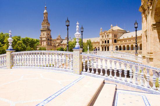 Plaza de Espana - Siviglia