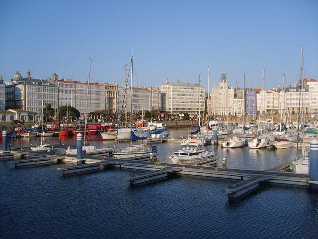Port La Coruña