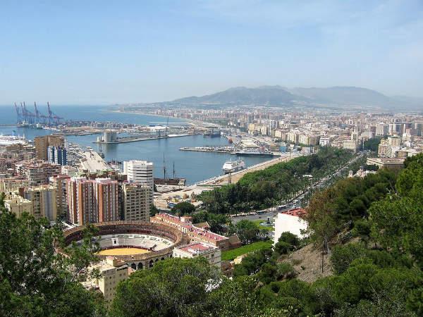 Malaga, Spagna